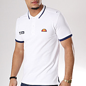 /achat-polos-manches-courtes/ellesse-polo-manches-courtes-jersey-blanc-126306.html