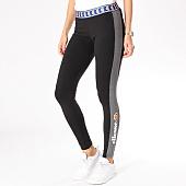 /achat-leggings/ellesse-legging-femme-bicolore-noir-gris-chine-126317.html