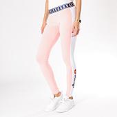 /achat-leggings/ellesse-legging-femme-bicolore-rose-blanc-126318.html