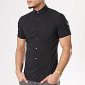 /achat-chemises-manches-courtes/celio-chemise-manches-courtes-daslim-noir-127057.html