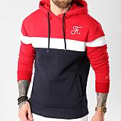 /achat-sweats-capuche/final-club-sweat-capuche-tricolore-avec-broderie-034-bleu-marine-blanc-rouge-127956.html
