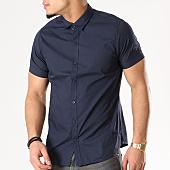 /achat-chemises-manches-courtes/brave-soul-chemise-manches-courtes-69monbassa-bleu-marine-128757.html