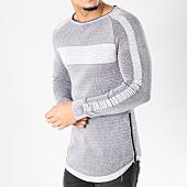 /achat-pulls/john-h-pull-zips-3180-gris-noir-128893.html