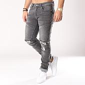 /achat-jeans/john-h-jean-slim-avec-zips-a1567-gris-128926.html