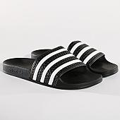/achat-claquettes-sandales/adidas-claquettes-adilette-280647-core-black-white-129211.html