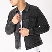 /achat-vestes-jean/only-and-sons-veste-jean-coin-trucker-noir-129073.html