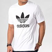 /achat-t-shirts/adidas-tee-shirt-trefoil-cw0710-blanc-noir-129303.html