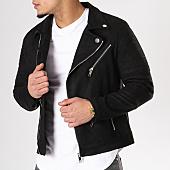 /achat-vestes-biker/frilivin-veste-biker-suedine-d007-noir-129230.html