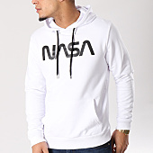 /achat-sweats-capuche/nasa-sweat-capuche-worm-logo-blanc-129280.html