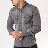 /achat-chemises-manches-longues/classic-series-chemise-manches-longues-jean-16176-gris-129365.html