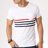 /achat-t-shirts-poche/lbo-tee-shirt-poche-avec-rayures-412-blanc-bleu-marine-rouge-129492.html