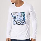 /achat-t-shirts-manches-longues/swift-guad-tee-shirt-manches-longues-pop-art-blanc-129487.html