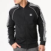 /achat-vestes/adidas-veste-zippee-avec-bandes-brodees-sst-cw1256-noir-129510.html