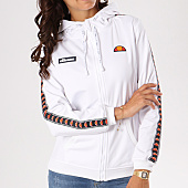 /achat-sweats-zippes-capuche/ellesse-sweat-zippe-capuche-femme-zip-blanc-129632.html