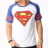 /achat-t-shirts/superman-tee-shirt-superman-sport-gris-clair-chine-bleu-marine-129860.html