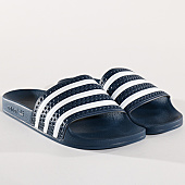 /achat-claquettes-sandales/adidas-claquettes-adilette-288022-adiblue-white-129974.html