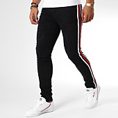 /achat-jeans/john-h-jean-slim-avec-bandes-a298-noir-129979.html
