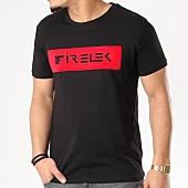 /achat-t-shirts/firelek-tee-shirt-logo-feutrine-noir-rouge-130075.html