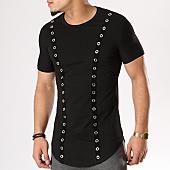 /achat-t-shirts-longs-oversize/john-h-tee-shirt-oversize-1820-noir-130183.html