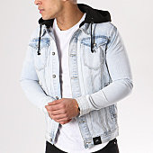 /achat-vestes-jean/sixth-june-veste-jean-capuche-m3192hde-bleu-clair-130355.html