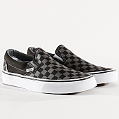 /achat-baskets-basses/vans-baskets-classic-slip-on-eyebpj-black-pewter-checkerboard-130101.html