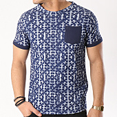 /achat-t-shirts-poche/american-people-tee-shirt-poche-guzo-bleu-marine-130406.html