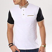 /achat-polos-manches-courtes/ikao-polo-manches-courtes-g-607-blanc-130504.html