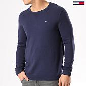 /achat-pulls/tommy-hilfiger-jeans-pull-tjm-original-4401-bleu-marine-130482.html