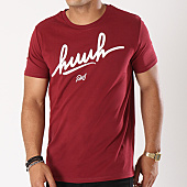 /achat-t-shirts/kpoint-tee-shirt-huuh-logo-bordeaux-131527.html