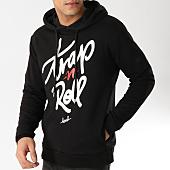 /achat-sweats-capuche/kpoint-sweat-capuche-trap-n-roll-noir-131538.html