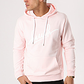 /achat-sweats-capuche/kpoint-sweat-capuche-huuh-logo-rose-131550.html