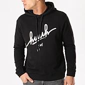 /achat-sweats-capuche/kpoint-sweat-capuche-huuh-logo-noir-131557.html