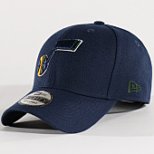 /achat-casquettes-de-baseball/new-era-casquette-the-league-nba-utah-jazz-bleu-marine-131395.html