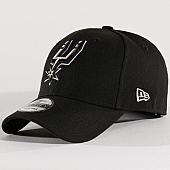 /achat-casquettes-de-baseball/new-era-casquette-the-league-nba-san-antonio-spurs-noir-131417.html