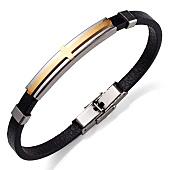 /achat-bracelets/california-jewels-bracelet-cross-noir-dore-131646.html