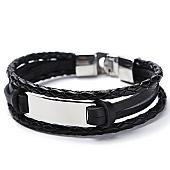 /achat-bracelets/california-jewels-bracelet-block-noir-argente-131657.html