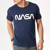 /achat-t-shirts/nasa-tee-shirt-worm-logo-bleu-marine-132305.html