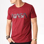 /achat-t-shirts/nasa-tee-shirt-worm-logo-bordeaux-132307.html