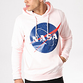 /achat-sweats-capuche/nasa-sweat-capuche-insignia-front-rose-pale-132377.html