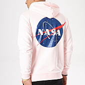 /achat-sweats-capuche/nasa-sweat-capuche-insignia-rose-pale-132378.html