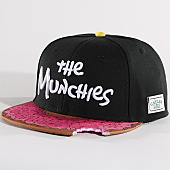 /achat-snapbacks/cayler-and-sons-casquette-snapback-munchies-classic-noir-rose-133013.html