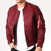 /achat-bombers/classic-series-bomber-101-bordeaux-133004.html