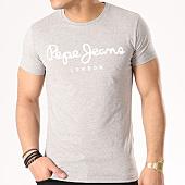 /achat-t-shirts/pepe-jeans-tee-shirt-original-stretch-gris-chine-133323.html