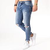 /achat-jeans/aarhon-jean-slim-troue-a70-bleu-denim-133440.html