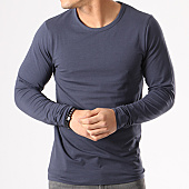 /achat-t-shirts-manches-longues/jack-and-jones-tee-shirt-manches-longues-o-neck-bleu-marine-133558.html