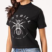 /achat-t-shirts/anthill-tee-shirt-crop-femme-logo-noir-133631.html