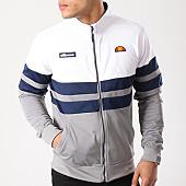 /achat-vestes/ellesse-veste-zippee-bandes-brodees-1032n-blanc-bleu-marine-gris-133707.html