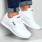 super popular 9e55d 2696a Fila - Baskets Orbit Low 1010263 1FG White