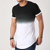 /achat-t-shirts-longs-oversize/john-h-tee-shirt-oversize-1859-noir-degrade-blanc-133759.html
