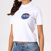 /achat-t-shirts/nasa-tee-shirt-crop-femme-insignia-blanc-133621.html